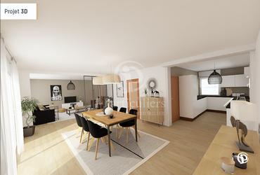 Maison - 110m² longuenesse - 62219