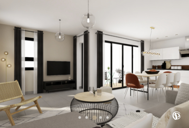 Appartement - 93m² pringy - 74370
