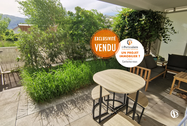 Rez De Jardin - 62.67m² grenoble - 38100